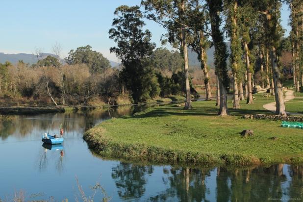 Desembocadura del río Tamuxe (O Rosal)