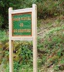 Señalización del Paseo Fluvial del Arenteiro