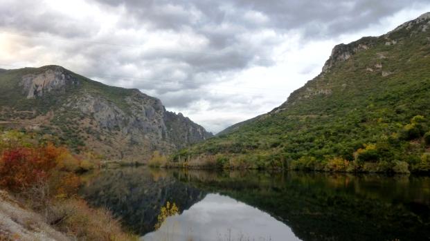Entrada del río Sil en Galicia (Rubiá)