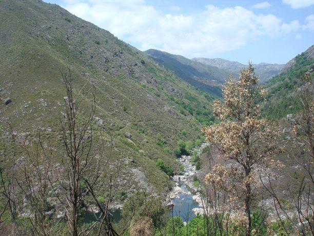 Cascadas río Laboreiro (Serra do Xurés)