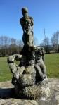 Monumento nacimiento del río Miño