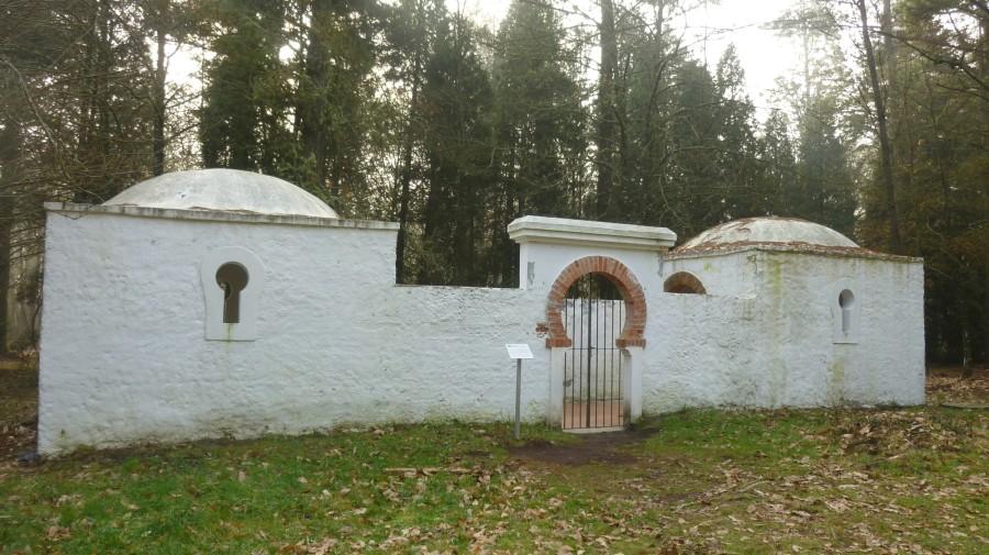 Antigua mezquita del Balneario de Guitiriz